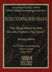 Rosa Codina, global allergy market